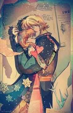 Pinté un arco iris en mi habitación para redordar cada bello momento que pase junto a ti. Cada color representó un momento especial que vivi junto a ti y cada estrella, un beso dado por ti. -Momentos de Locura