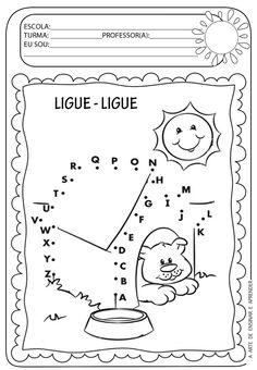 A Arte de Ensinar e Aprender: Atividade pronta - Ligue ligue alfabeto