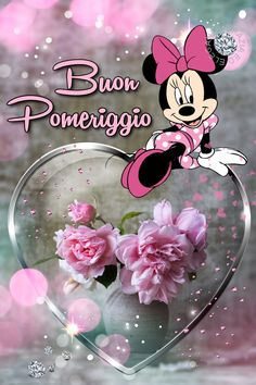 Italian Greetings, Good Afternoon, Mickey Mouse, Disney Characters, Fantasy, Spring, Gingham, Baby Mouse