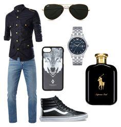 """Men's"" by tayzie144 ❤ liked on Polyvore featuring 3x1, Vans, Topman, Marcelo Burlon, Emporio Armani, Polo Ralph Lauren, men's fashion and menswear"
