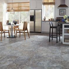 Rushmore Luxury Vinyl Tile Flooring, Vinyl Tiles, Vinyl Plank Flooring, Kitchen Flooring, Vinyl Wood, Wood Flooring, Kitchen Countertops, Kitchen Cabinets, Shaw Carpet Tile