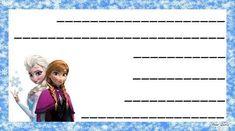 Etiquetas libros escolares: fotos modelos para imprimir - Etiquetas Frozen