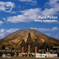 Siapa yang tak kenal dengan Gunung Bromo. Kawasan di sekitarnya juga indah dan memanjakan setiap mata yang memandang. Salah satunya Pura Poten. Pura ini adalah tempat ibadah bagi para Suku Tengger. Selain untuk ibadah, ritual pengangkatan dukun baru (Upacara Kasada) juga diadakan di sini.