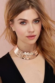 Neo Cleo Collar Necklace