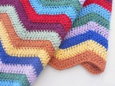 fable of five: Chevron Baby Blanket
