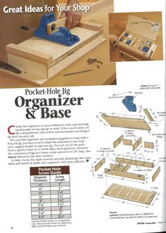 Kreg Jig Organizer Project Plan - Kreg Jig Owners Community