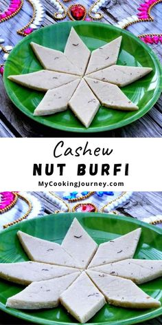 Kaju Katli or Cashew nut burfi is an ever favorite dessert loved my kids and adult alike. A must have sweet for any festive occasion or celebration. Made with just cashew nuts and sugar, this recipe can be made in under 20 minutes. Kaju Katli, Clarified Butter Ghee, Love My Kids, Recipe Boards, Feta, Burfi Recipe, Vegan Recipes, Favorite Recipes, Yummy Food