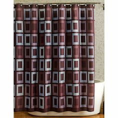 Contemporary Fixes for a Bathroom - InfoBarrel Shower Curtains Walmart, Fabric Shower Curtains, Aqua Bathroom, Bathroom Sets, Home Repairs, Towel Set, Interior And Exterior, Home And Garden, Bathroom Updates