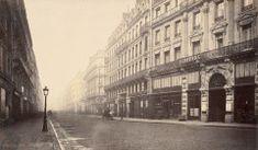 Charles Marville - Vues du Paris d'Haussmann Rome, Rue Mouffetard, Boulevard Saint Germain, Old Paris, Historical Photos, Perspective, Images, Street View, Circa