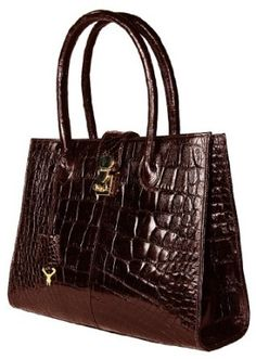 Sultan Genuine Alligator Zaap Satchel Bag Expensive Handbags Best Purses Black