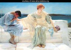 Ask Me No More, 1906 - Sir Lawrence Alma-Tadema - www.alma-tadema.org