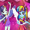 Rainbow Dash and Twilight Fashion Rivals