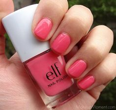 E.L.F. Eyes Lips Face NAIL POLISH FLUORESCENT PINK 1508 ELF