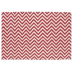 Chevron and On Rug (Pink)  | The Land of Nod