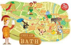 Illustration - Maps & Diagrams by Linzie Hunter, via Behance