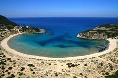 Voidokilia Beach in Messinia