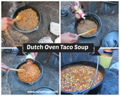 Dutch Oven Taco Soup