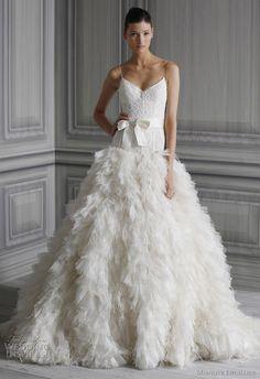 Monique Lhuillier Wedding Dresses Spring 2012 Bridal Collection | Wedding Inspirasi