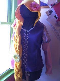 DYI repunzel costume | Rapunzel Rapunzel Let Down Your…Hoodie!? | Maison Mouse
