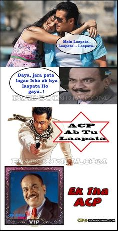 #ACP owned by #Salman #Khan #CID #PJ