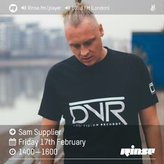 Rinse FM Podcast - Sam Supplier - 17th February 2017 by Rinse FM on SoundCloud