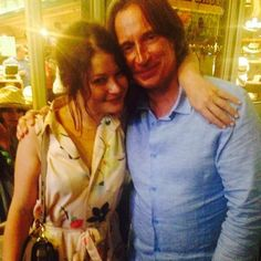 Emilie de Ravin and Robert Carlyle - photo via fairytaleasoldastime on Tumblr