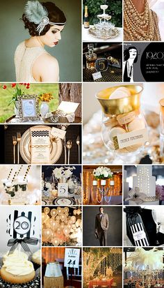 gatsby party decorations | 1920s Party Theme { Great Gatsby }