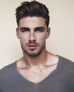 View the best mens hairstyles from Charlemagne Premium male grooming and beard styling We love the sexy looks using pomades, clay, matte paste and the coolest messy looks Tattoo - New Hair Cut Quiff Haircut, Quiff Hairstyles, Trendy Hairstyles, Undercut Hairstyle, Men Undercut, Hairstyles 2018, 1950s Mens Hairstyles, Makeup Hairstyle, Medium Hair Styles