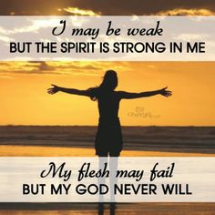 GOD will never fail!