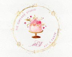 Bakery Business Cards, Cake Business, Business Logo, Pastry Logo, Paw Patrol Birthday Theme, Dessert Logo, Calligraphy Logo, Caligraphy, Cake Wallpaper