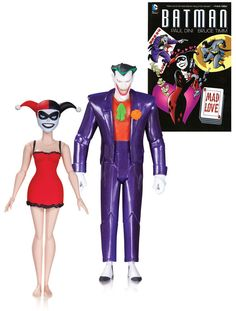 Batman the animated #series action #figure #2-pack joker & harley quinn mad love,  View more on the LINK: 	http://www.zeppy.io/product/gb/2/112214037514/
