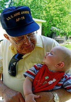 Arthur J. Koch (2006), my Grandfather - he served on the USS Anne Arundel during WWII.