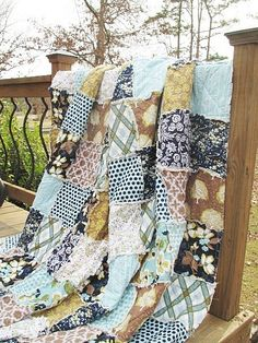 from southerncharmquilts (etsy.com) LOVE the patchwork & the colors!!