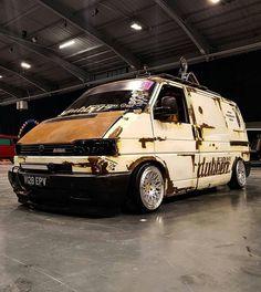 Volkswagen Transporter, Volkswagen Bus, Vw Caravelle, Vw Vanagon, Bobber Style, Rat Look, Cool Vans, Vans Style, Custom Vans