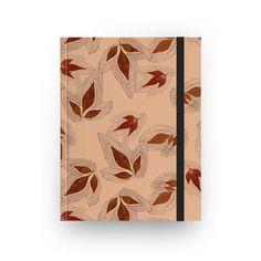 Sketchbook Folhas de outono rose gold de @jurumple | Colab55