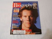 SIGNED Kevin Bacon Magazine 8x10 Photo Autographed BIOGRAPHY