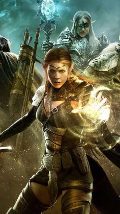 The Elder Scrolls Online Game Poster 4K Ultra HD Mobile Wallpaper. Black Queen, Trending Hashtags Today, Eso Online, Elder Scrolls Online, Fantasy Setting, Mobile Wallpaper, Online Games, Video Games, Sci Fi