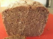 """This """"Vollkornbrot"""" is a true German rye bread recipe, but unfamiliar to most nonnatives. Often called the archetype of rye bread, this recipe produces a dense, moist sourdough which is eaten in thin slices. Start this rye bread recipe the day before you bake. It does not require """"Altus"""" (old bread) so it is an easy bread to start with."""