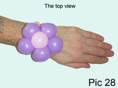 Balloon-O-Therapy Twisting Balloons with FewDoIt: Flower Five Petals Bracelet Balloon Twisting Instruction