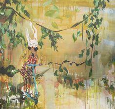 My Artwork by Heidi Nuyts 100 x 100 Acrylics on canvas