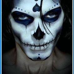 DIA De Los Muertos Hairstyles | Eye Makeup For Brown Eyes Natural Look