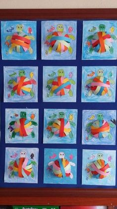 Butterflies made by a small butterfly :) need not be difficult. #paper #color #butterfly - Favland.org Toddler Crafts, Diy Crafts For Kids, Art For Kids, Arts And Crafts, Paper Crafts, Beach Themed Crafts, Ocean Crafts, Kindergarten Art, Preschool Crafts