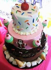 8th birthday ice cream cake - - Yahoo Image Search Results