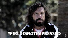 #pirloisnotimpressed