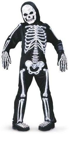 nice Fun World Totally Skelebones Child Costume-