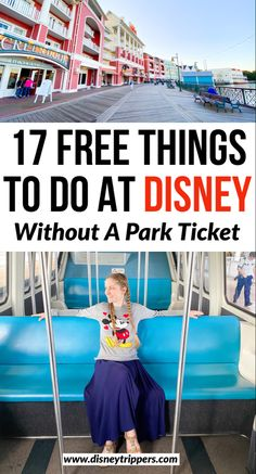 17 free things to do at disney without a park ticket | free things to do at disney world | disney on a budget | what to do at disney for free | best things to do at disney world #disney #budget #disneyworld