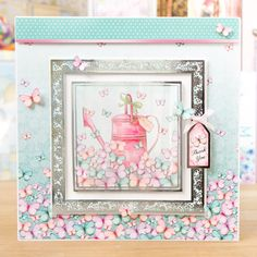Hunkydory Especially for Her die cut toppers & card