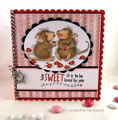 How Sweet It Is! by Susiespotless - Cards and Paper Crafts at Splitcoaststampers