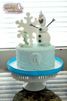 Olaf Cake, Disney Cake, Frozen Cake