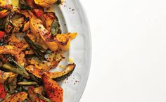 roasted squash with mint and toasted pumpkin seeds delicious roasted ...